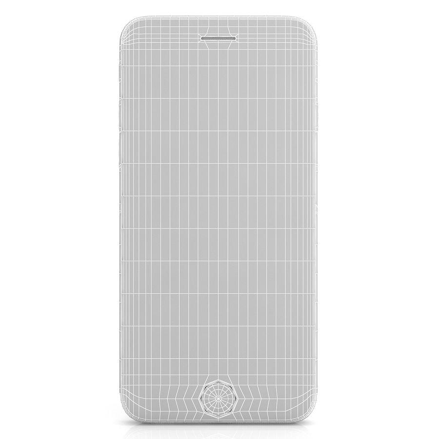 Apple iPhone 6s Gümüş royalty-free 3d model - Preview no. 9