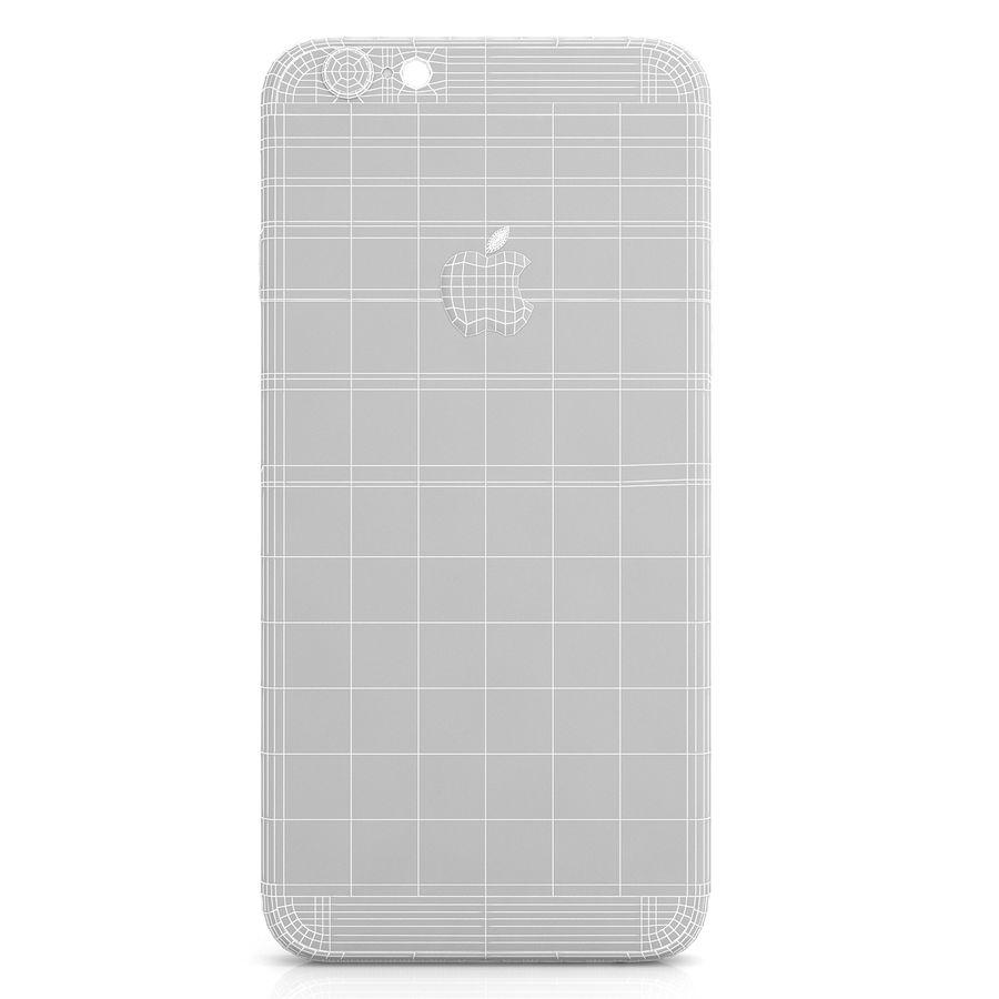Apple iPhone 6s Gümüş royalty-free 3d model - Preview no. 11