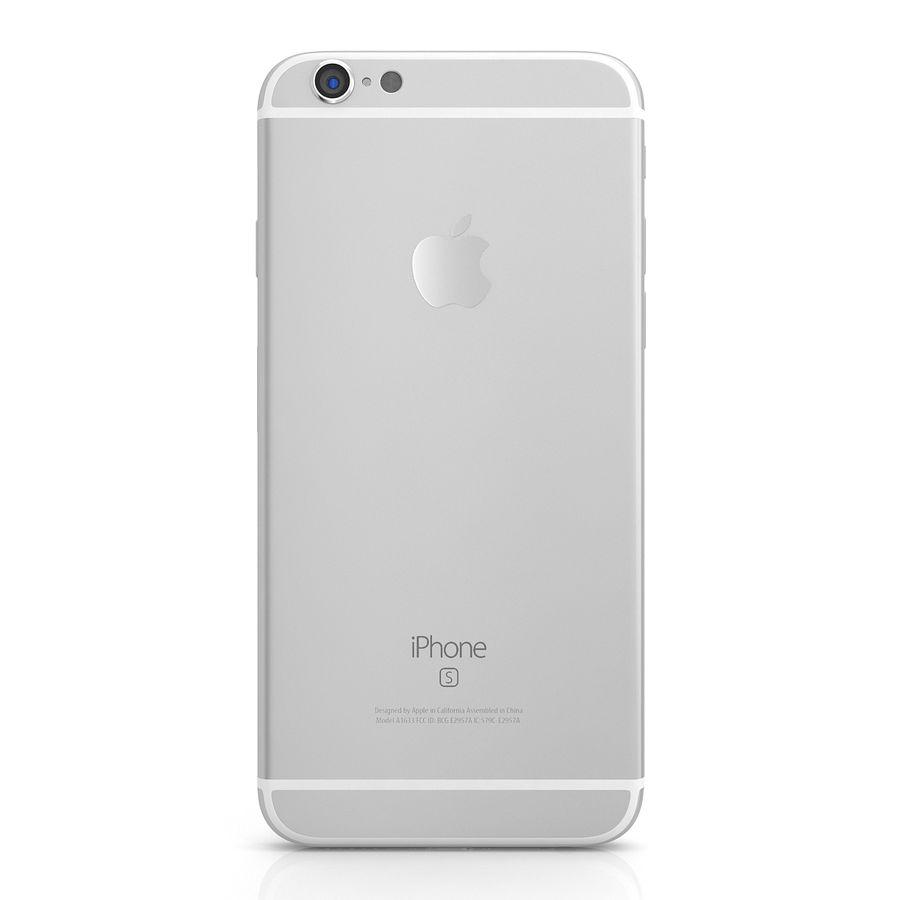 Apple iPhone 6s Gümüş royalty-free 3d model - Preview no. 4