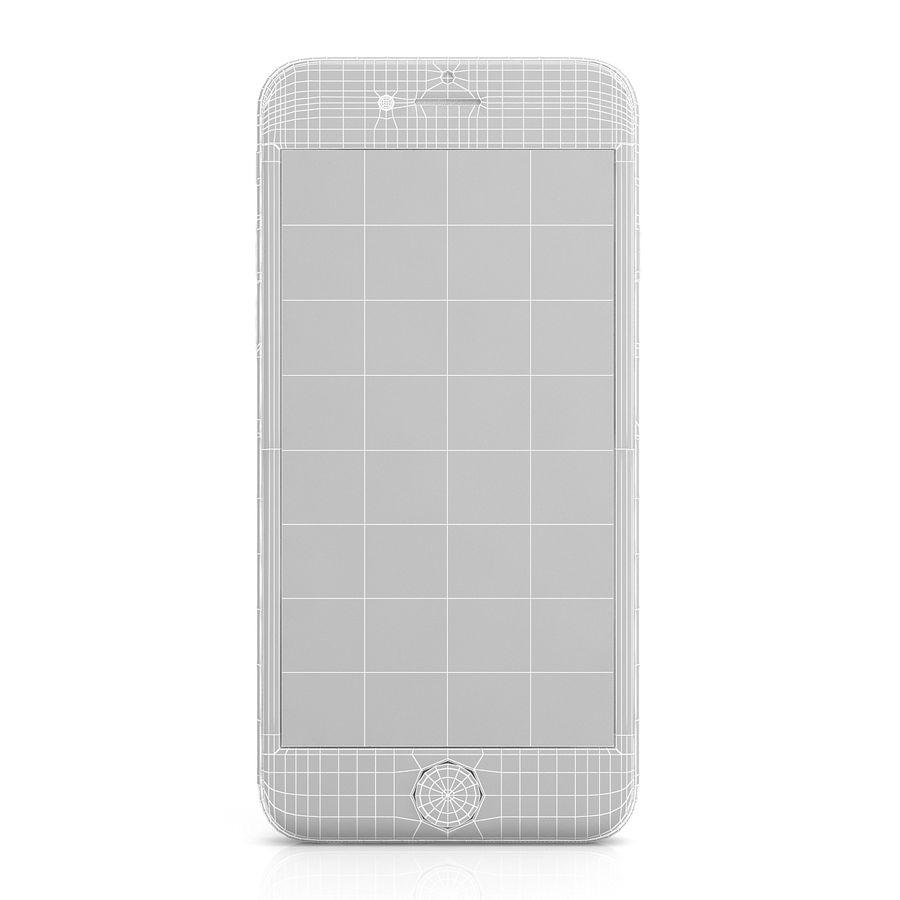 Apple iPhone 6s Gümüş royalty-free 3d model - Preview no. 10