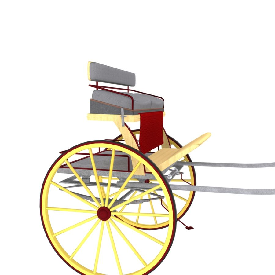 Carriage royalty-free 3d model - Preview no. 3