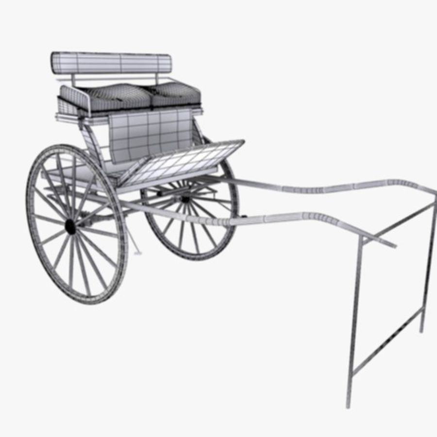 Carriage royalty-free 3d model - Preview no. 14