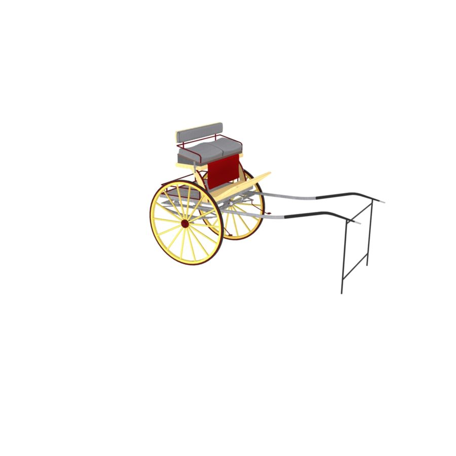Carriage royalty-free 3d model - Preview no. 8
