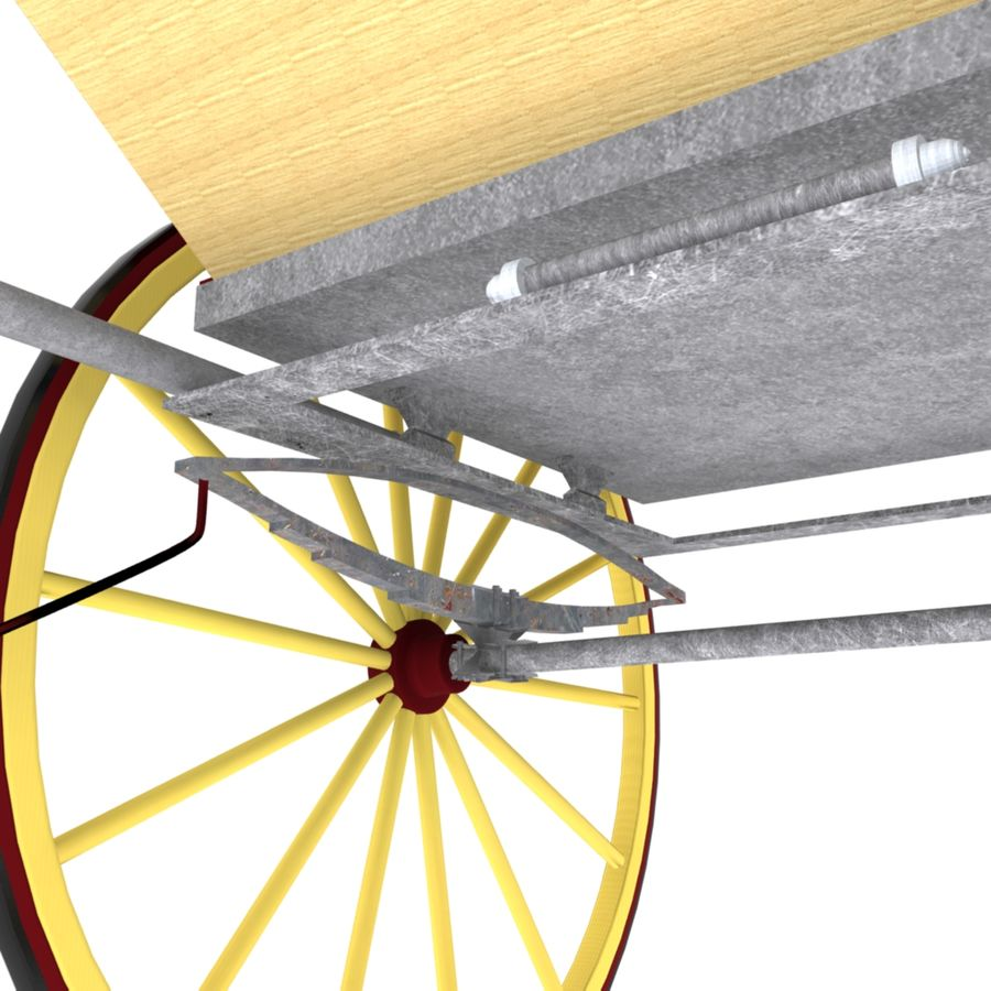 Carriage royalty-free 3d model - Preview no. 9