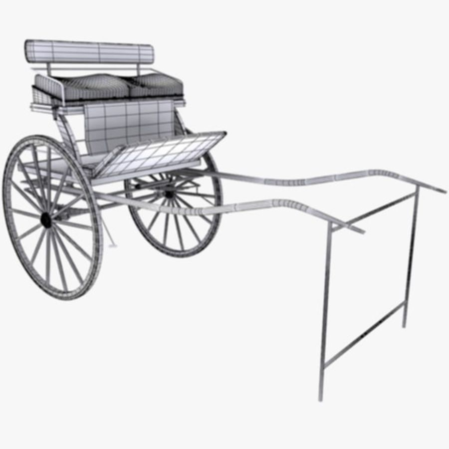 Carriage royalty-free 3d model - Preview no. 11