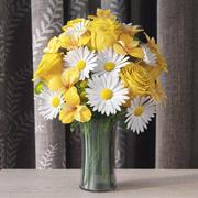 꽃병에 꽃 3d model