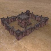 堡垒要塞建设集 3d model