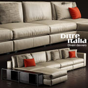 Soffa Ditre Italia URBAN 3d model