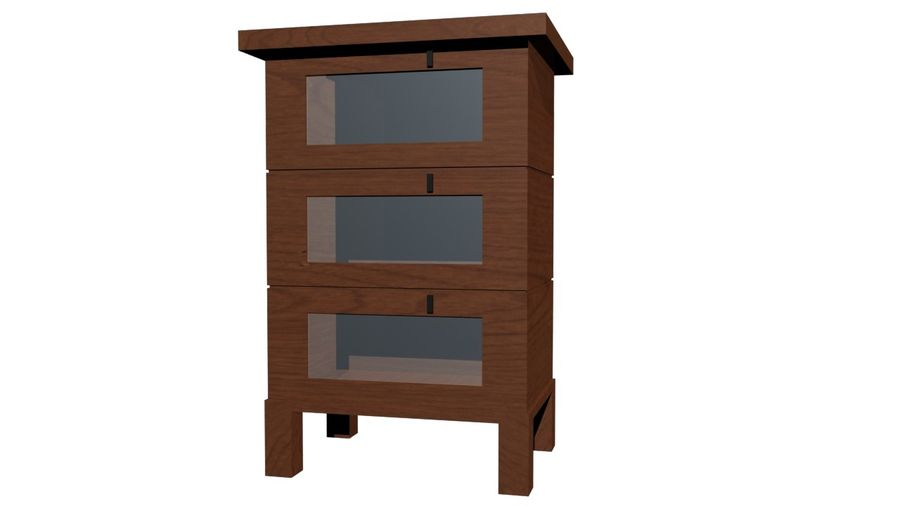 Gabinete royalty-free 3d model - Preview no. 1