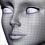 lady_face 3d model
