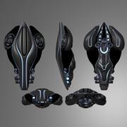 宇宙船 3d model