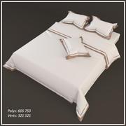 Cantori Roupa de cama e acessórios Amalfi 3d model