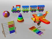 玩具套件 3d model