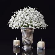 꽃의 꽃다발 3d model