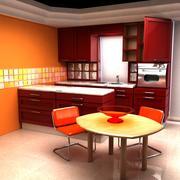 Keuken (tv-toestel) 3d model