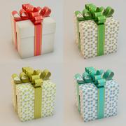 Geschenkbox Geschenkbox Sammlung 3d model