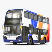 Bus Enviro400 3d model