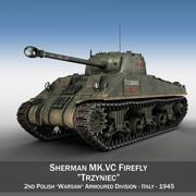 M4 Sherman MK VC Firefly - Тринец 3d model