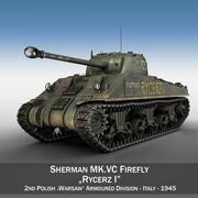 M4シャーマンMK VCファイアフライ-ライサーズI 3d model
