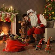 크리스마스 3d model