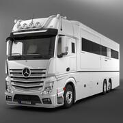 Mercedes Actros Motorhome 3d model