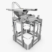 Seletor de camada de palete 3d model