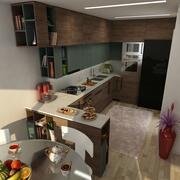 Scena kuchenna 3d model