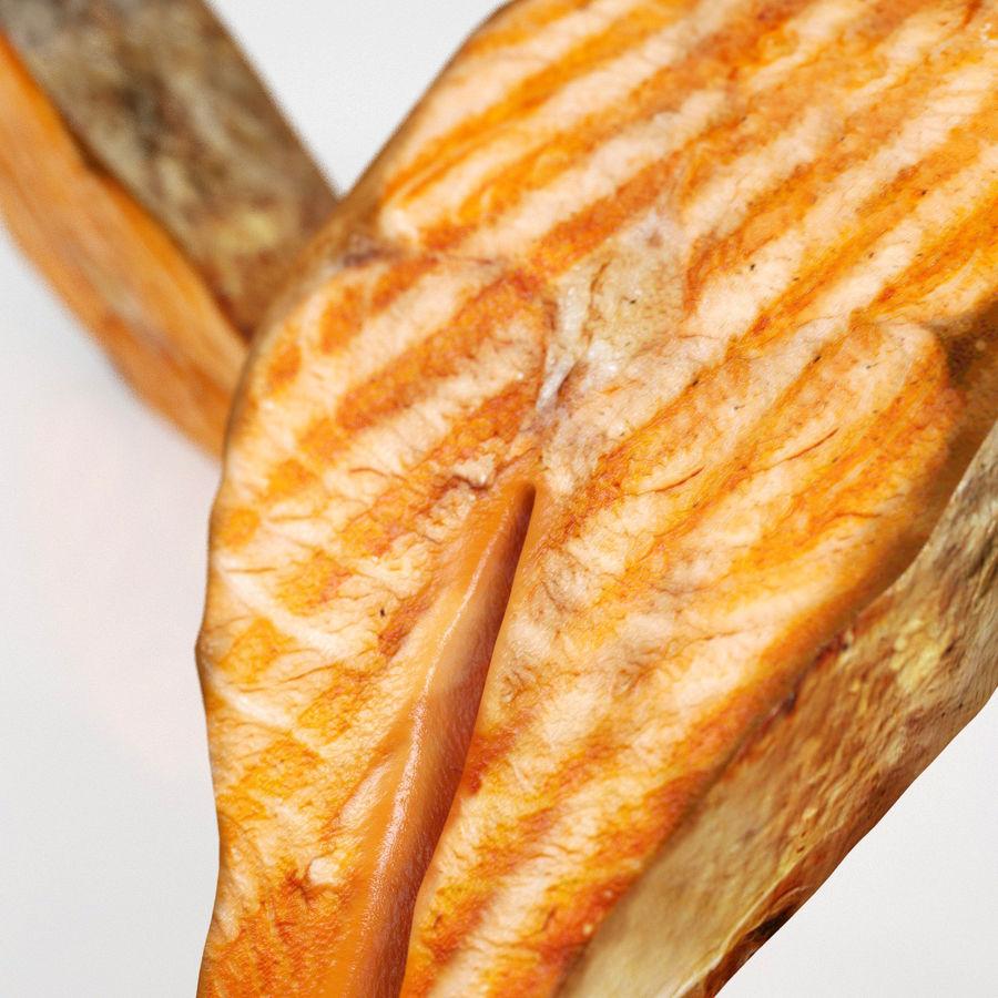 Filé de salmão royalty-free 3d model - Preview no. 6
