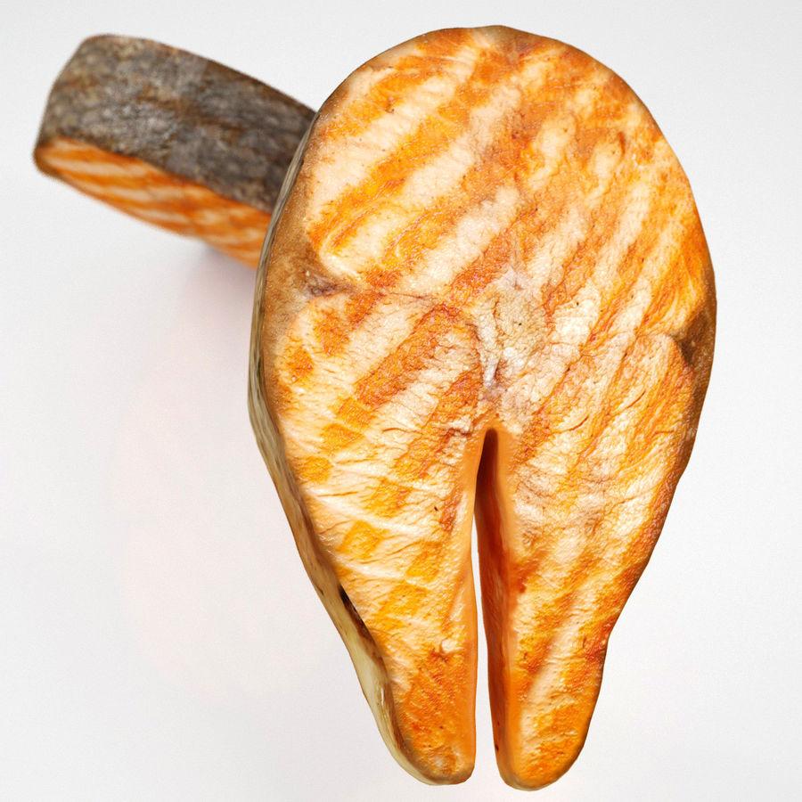 Filé de salmão royalty-free 3d model - Preview no. 4
