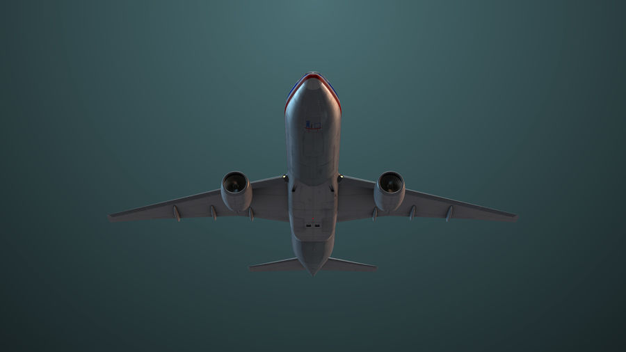 Avion royalty-free 3d model - Preview no. 7