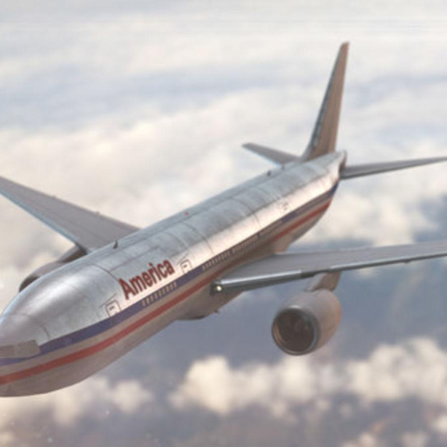 Самолет royalty-free 3d model - Preview no. 2