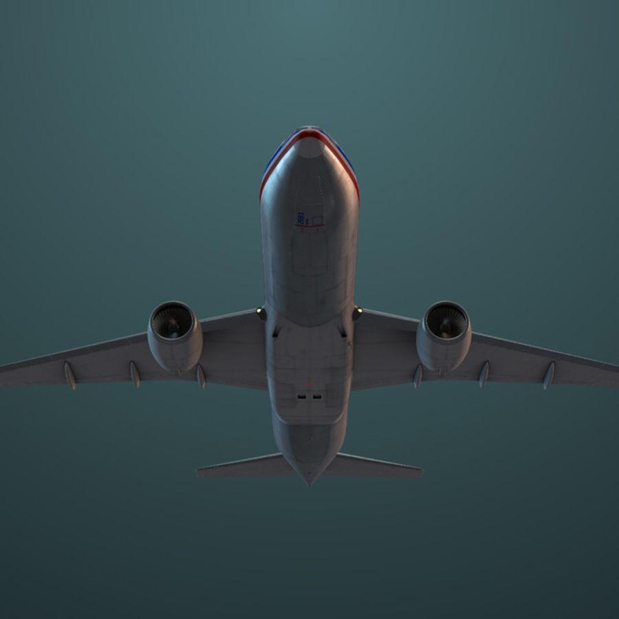 Самолет royalty-free 3d model - Preview no. 7