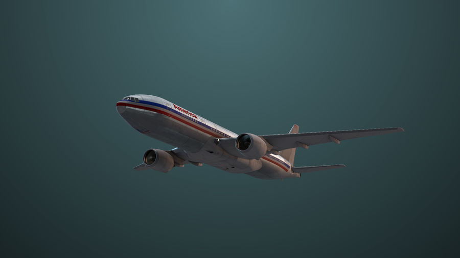 Avion royalty-free 3d model - Preview no. 6