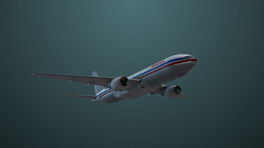 Avion royalty-free 3d model - Preview no. 5