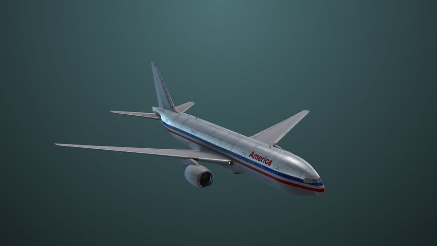 Avion royalty-free 3d model - Preview no. 4