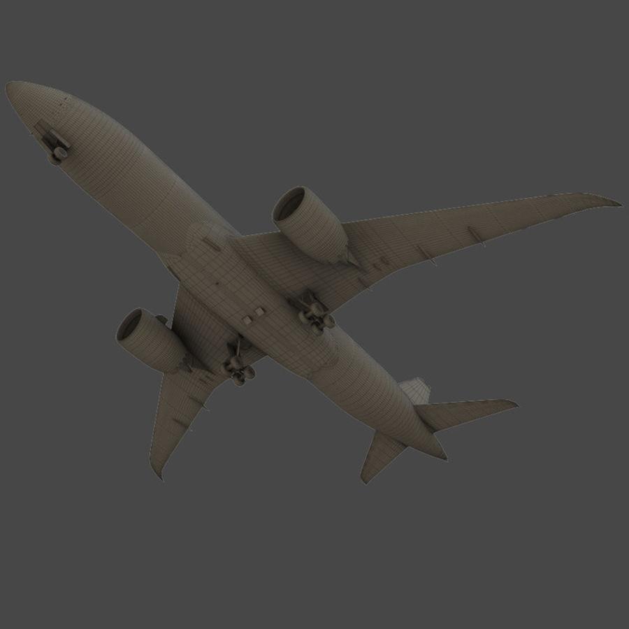 Boeing 787-8 Dreamliner 3D Model $15 -  unknown  max  fbx