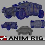 Lac Humvee modelo 3d