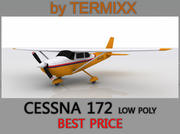 Cessna 172 Low Poly Skin 4 3d model