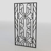 window bars 023 3d model