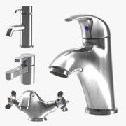 Faucets 4 Pack 3d model