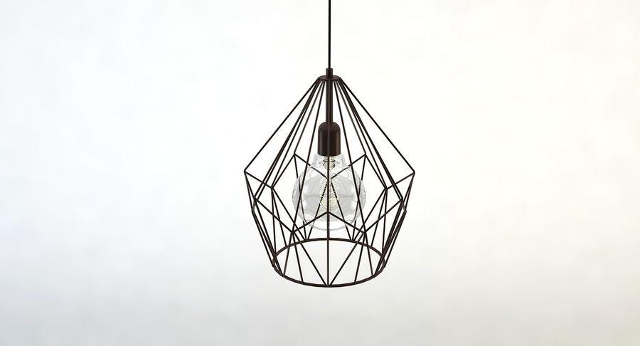 Zabytkowa lampa Carlton royalty-free 3d model - Preview no. 4