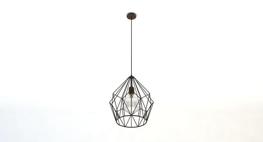 Zabytkowa lampa Carlton royalty-free 3d model - Preview no. 3