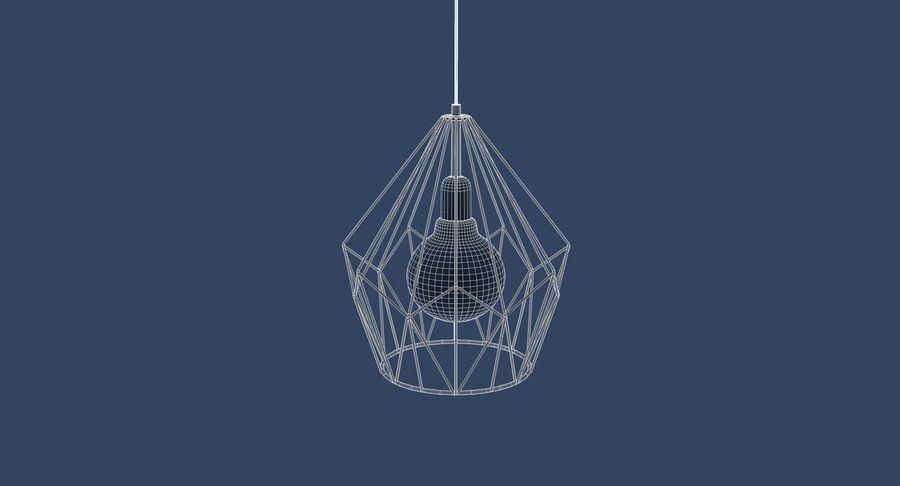 Zabytkowa lampa Carlton royalty-free 3d model - Preview no. 7
