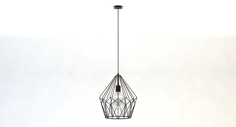 Zabytkowa lampa Carlton royalty-free 3d model - Preview no. 2