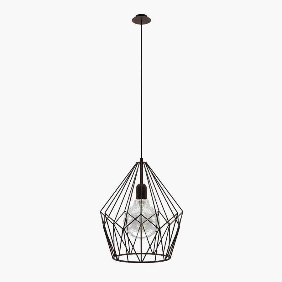 Zabytkowa lampa Carlton royalty-free 3d model - Preview no. 1