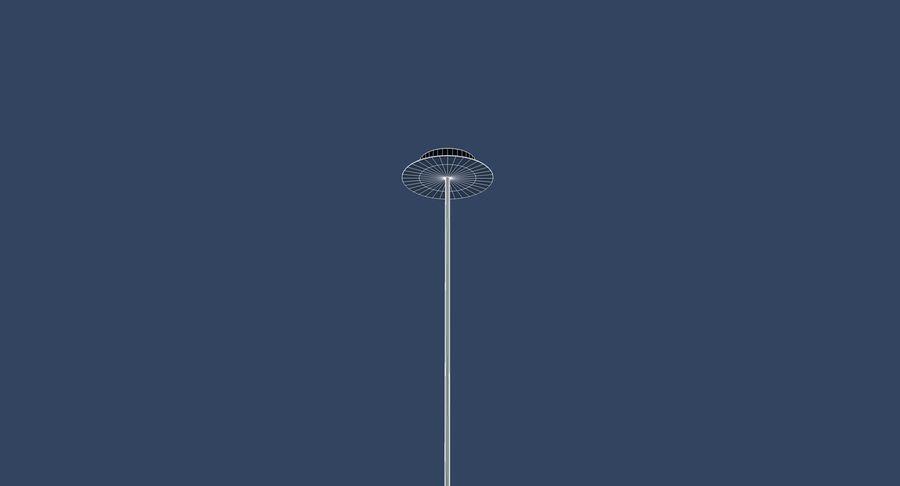 Zabytkowa lampa Carlton royalty-free 3d model - Preview no. 8