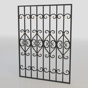 window bars 006 3d model