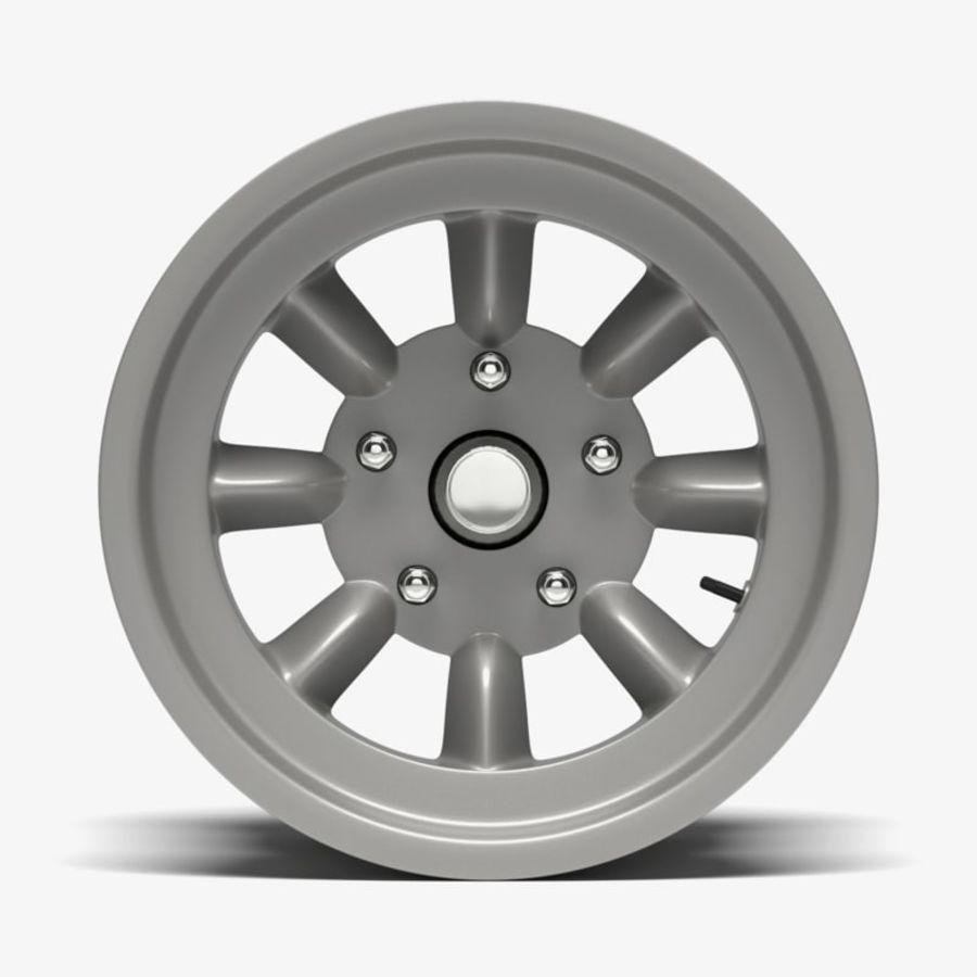 Minilite Wheel royalty-free 3d model - Preview no. 2