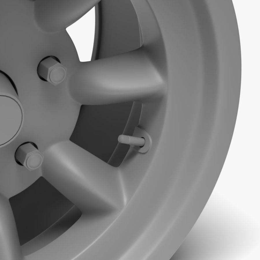 Minilite Wheel royalty-free 3d model - Preview no. 5