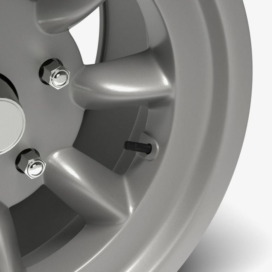 Minilite Wheel royalty-free 3d model - Preview no. 4